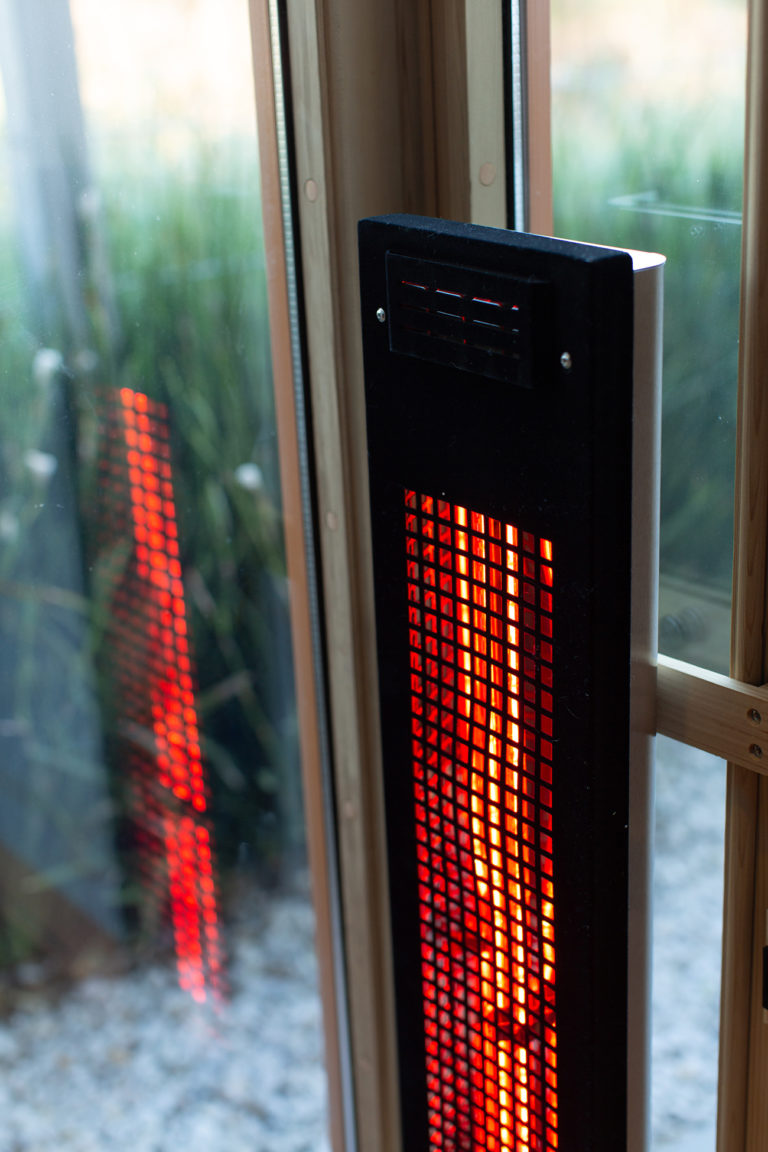 Infrared Saunas: Clearlight Outdoor Sauna by Jacuzzi: Full Spectrum Heaters