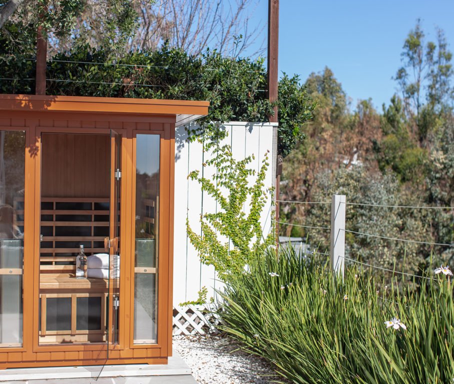 Infrared Saunas: Clearlight Outdoor Sauna by Jacuzzi: View 2