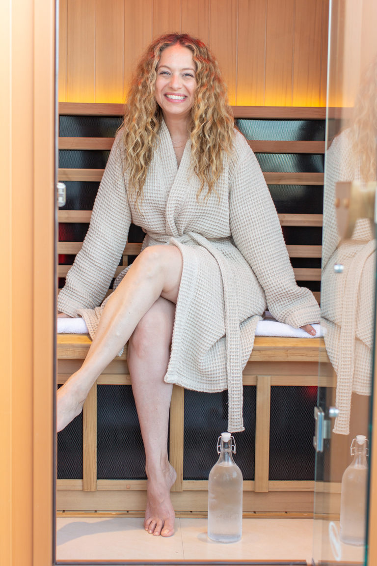 Infrared Saunas: Clearlight Outdoor Sauna by Jacuzzi: Carley
