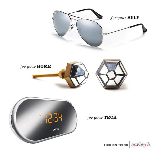 tech on trend mirrored carley knobloch