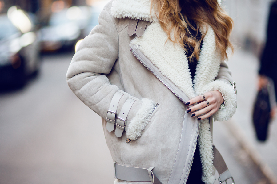 Tech on Trend Shearling
