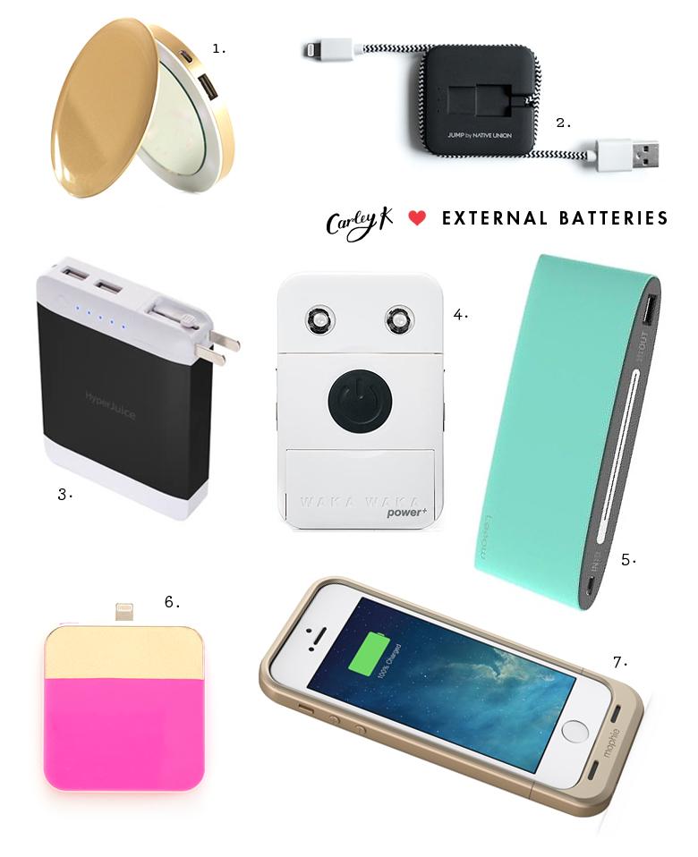 External Batteries I love