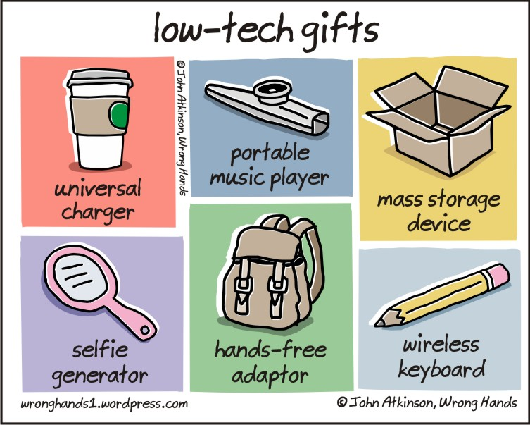 low tech gifts