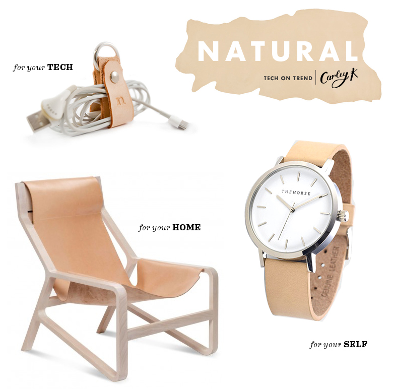 tech on trend: natural