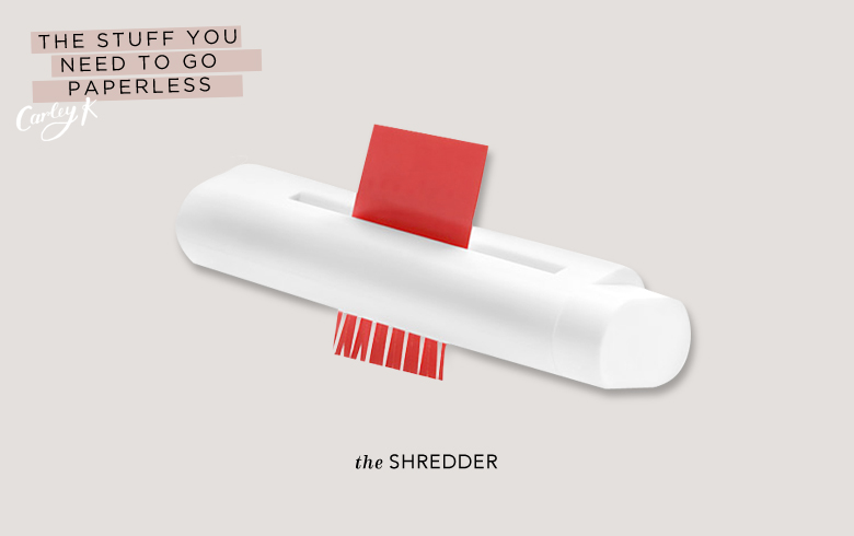 Paperless: Shredder