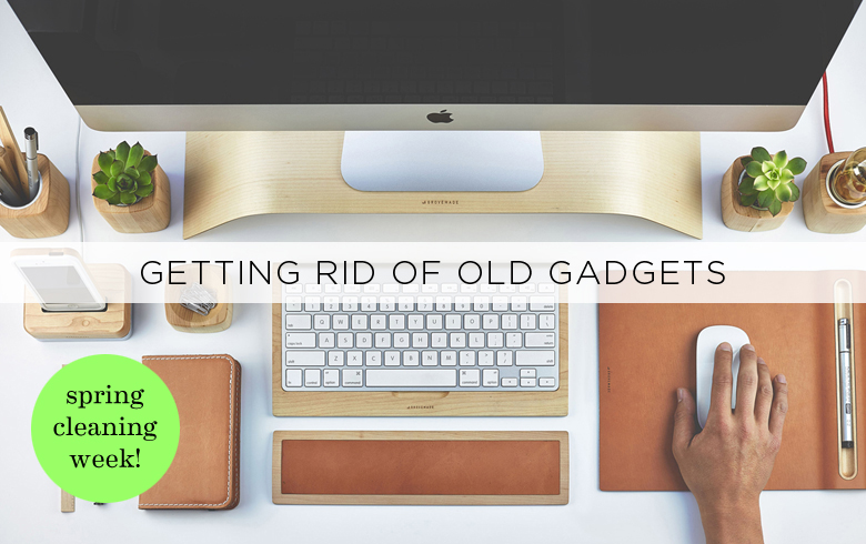 Sell old gadgets spring cleaning
