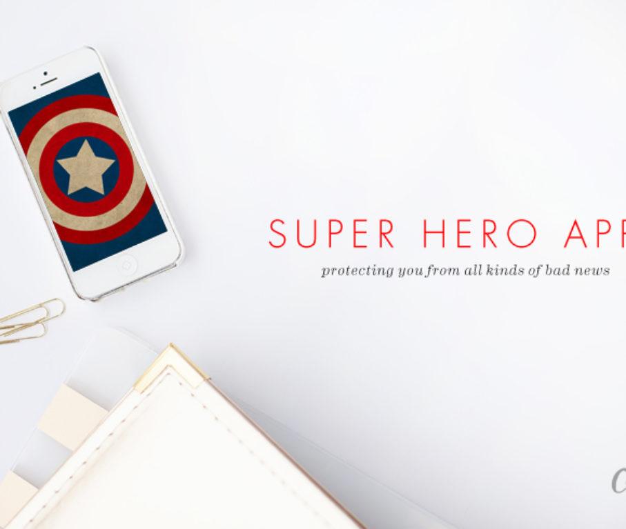 Super Hero Apps