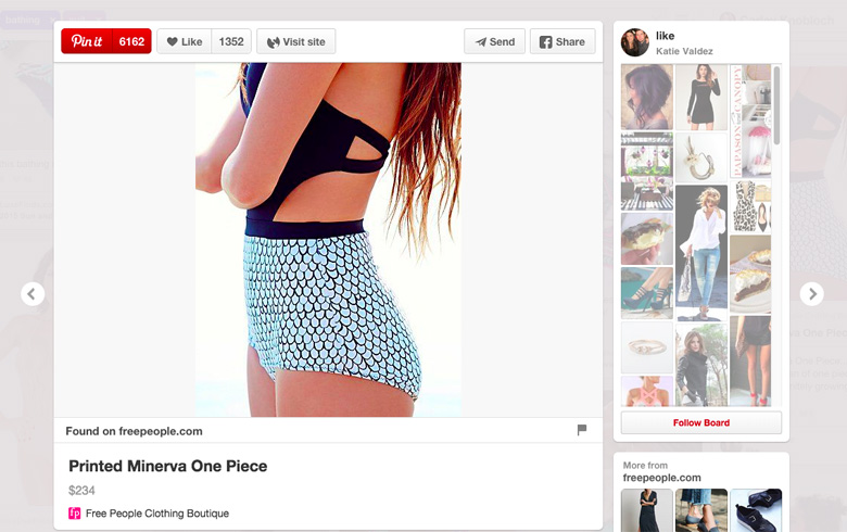 swimsuit shopping pinterest