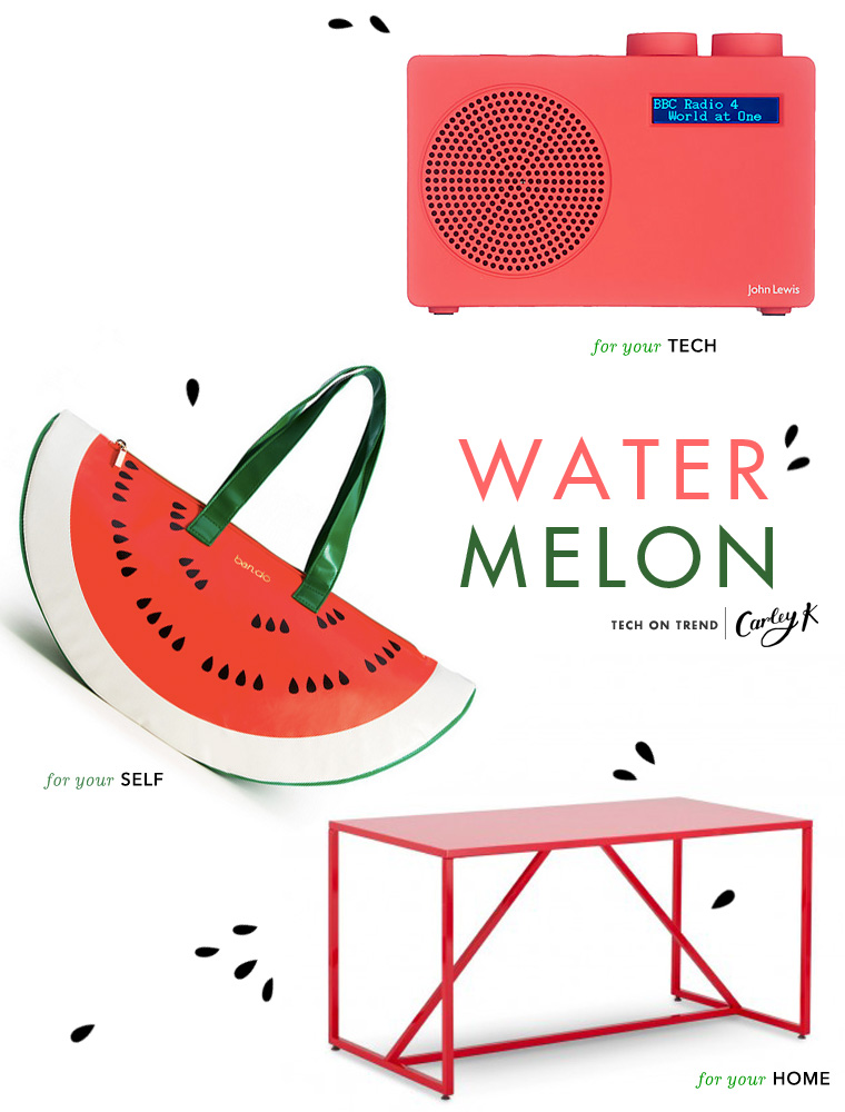 National Watermelon Day: Tech on trend