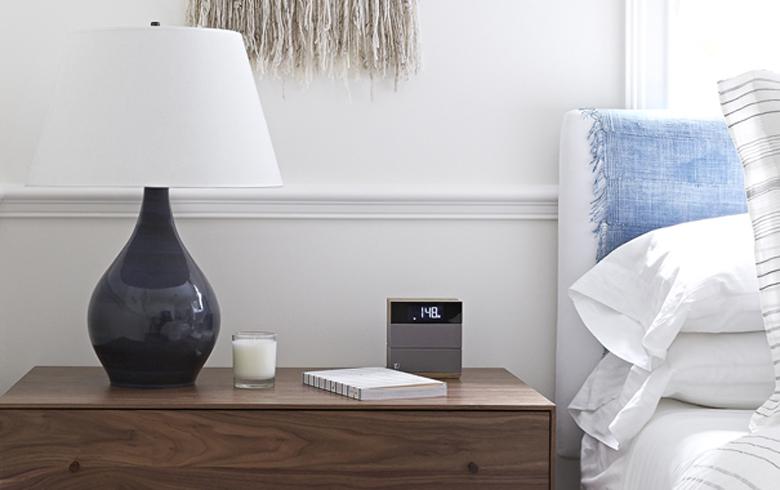 high tech guest room