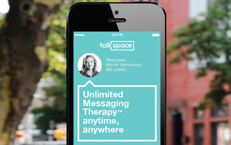 stay healthy: TalkSpace