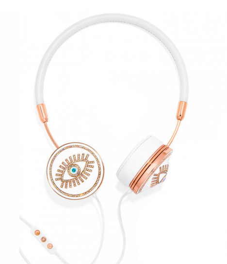 Frends X BaubleBar Rose Gold Fortuna Headphones