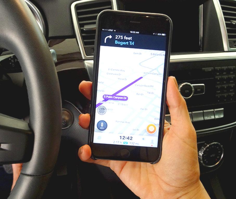 Using Waze Safely