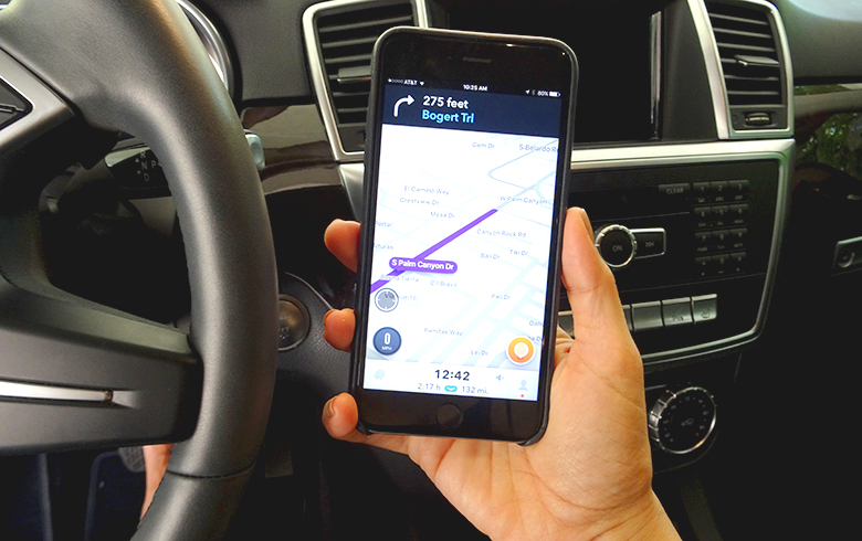 Using Waze Safely