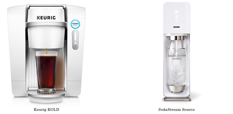 Comparing SodaStream Source and Keurig KOLD