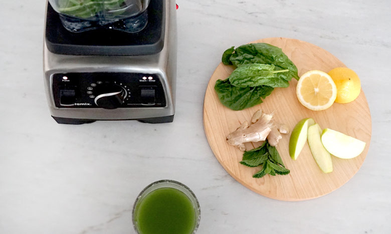 Vitamix Recipes: Green Juice