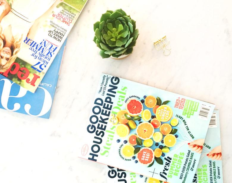 Magazines: Redbook & Good Housekeeping