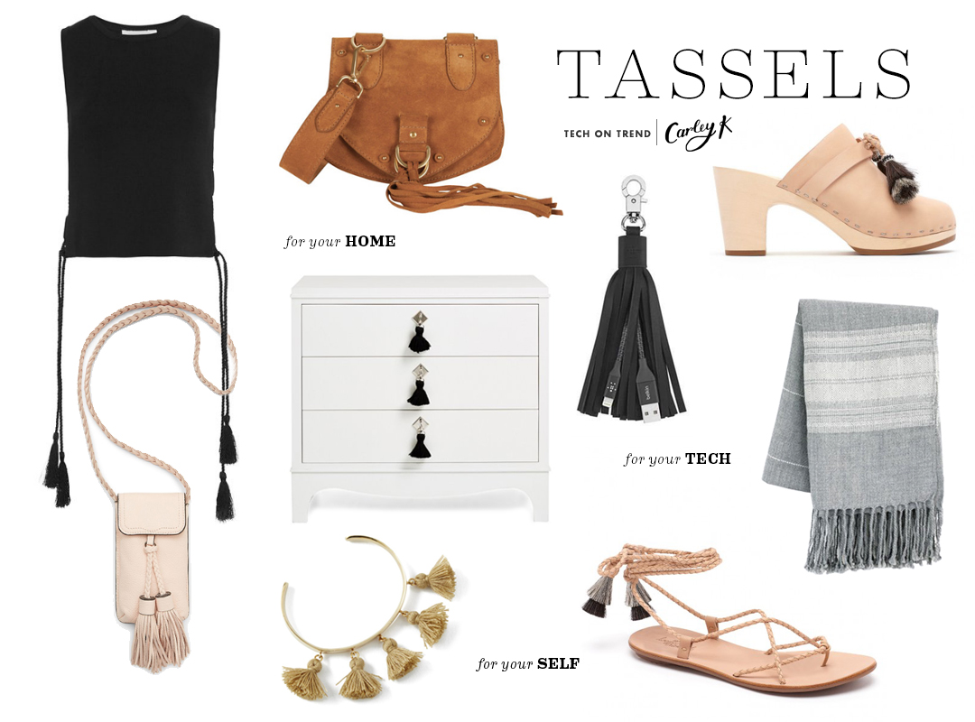 Tech on Trend: Tassels