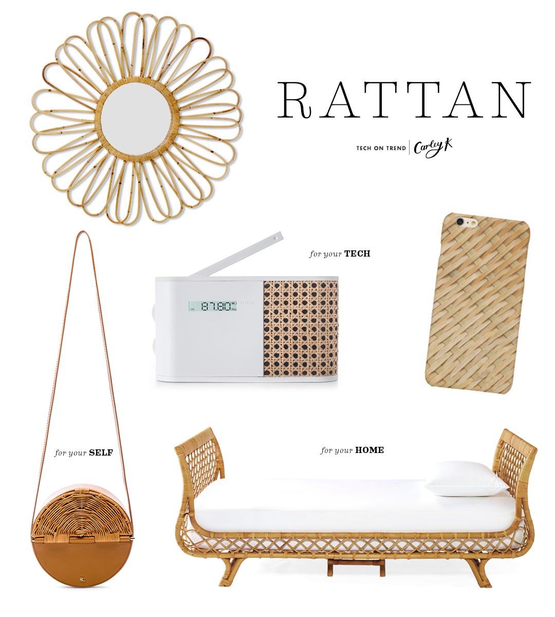 Tech on trend: Rattan