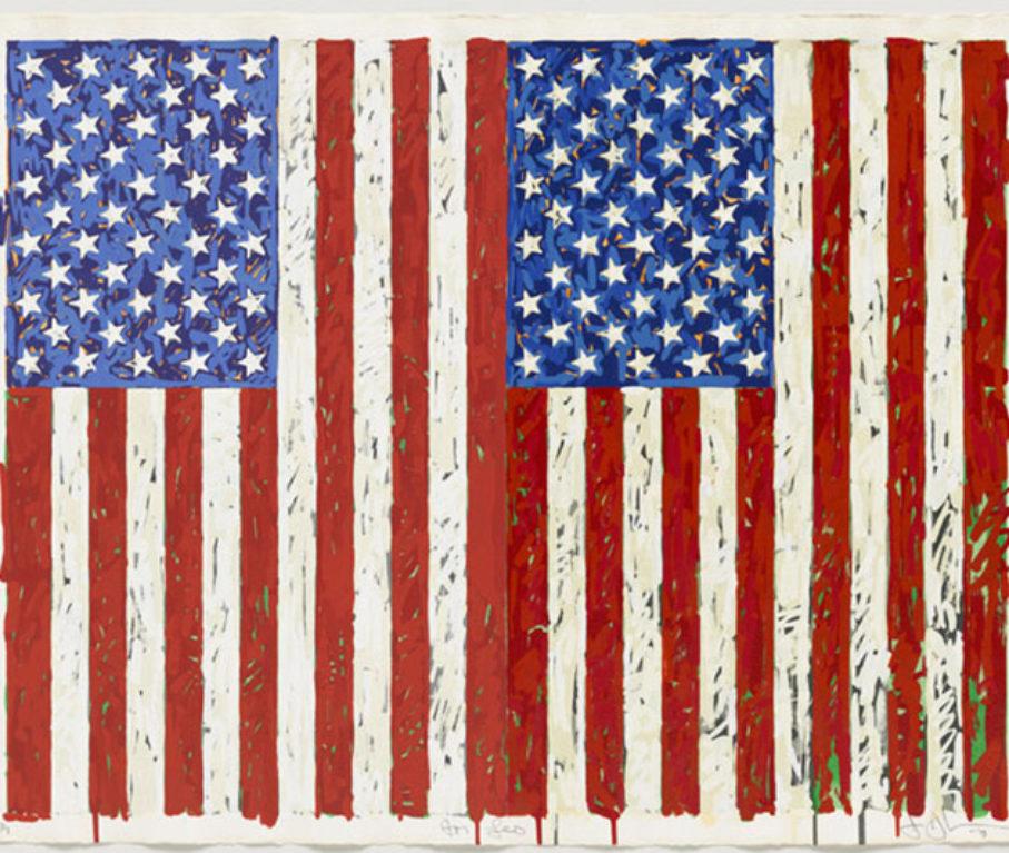 Jasper Johns Flags Freedom