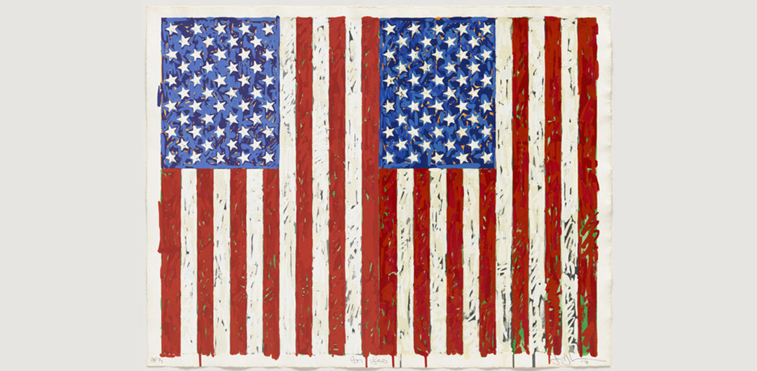 Jasper Johns Flags Freedom