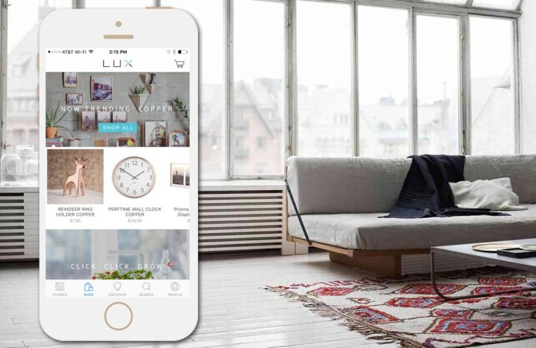 Lux App: Shopping Apps