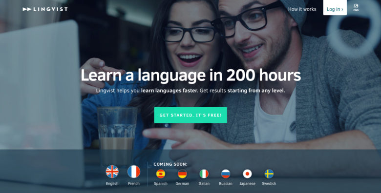 Lingvist: Online classes