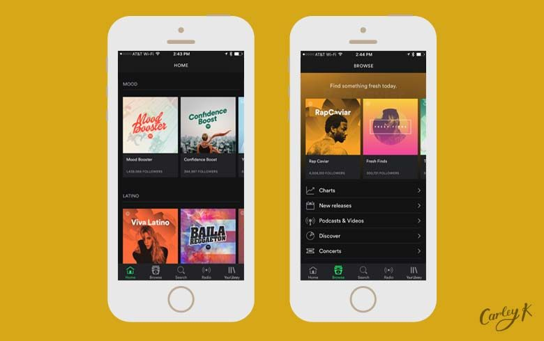 Streaming Music Apps: Spotify