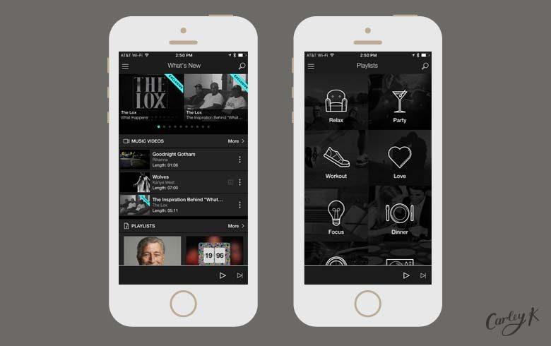 Streaming Music Apps: Tidal