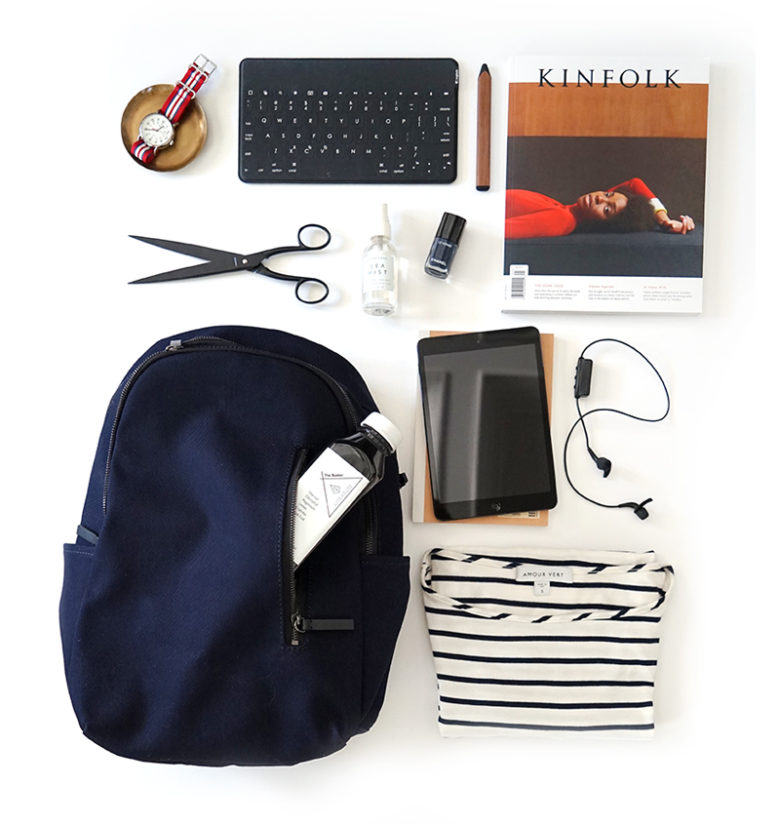 everlane: tech-friendly backpacks