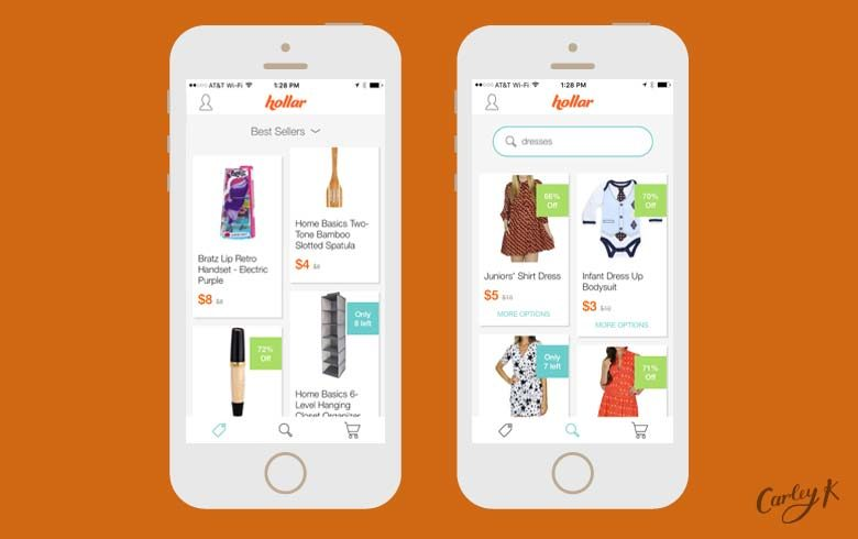 shopping apps: Hollar