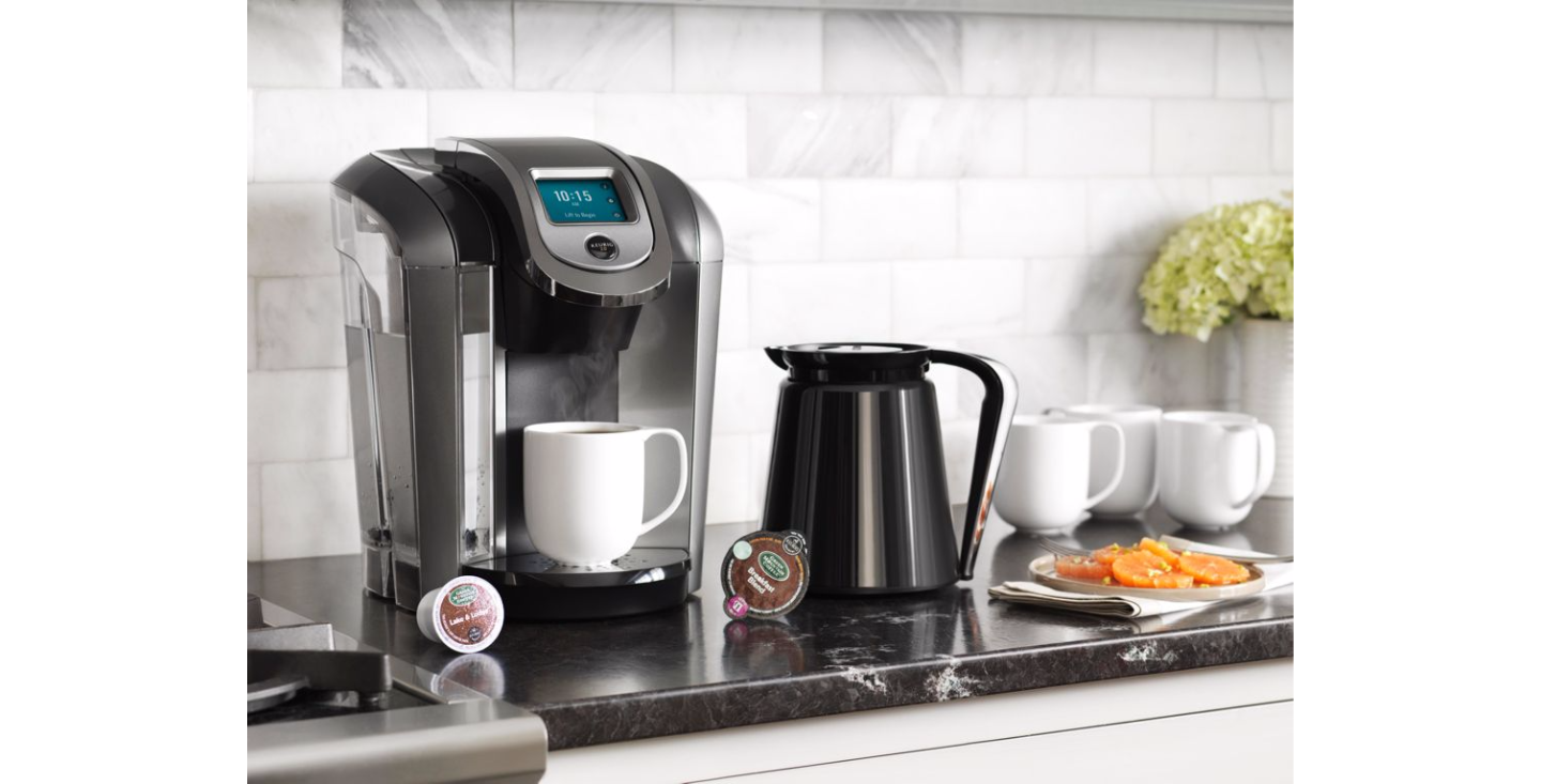Single Cup Coffee: Keurig K575 plus