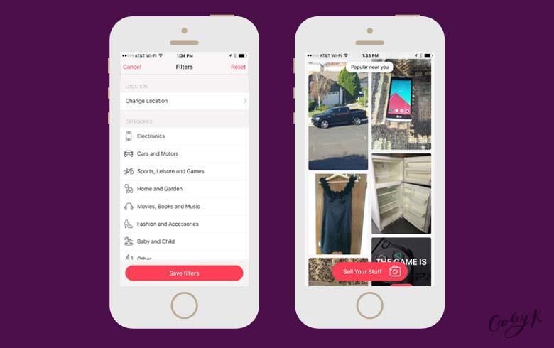 shopping apps: Letgo