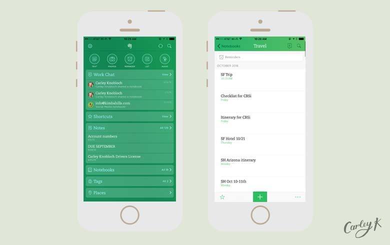 essential apps Evernote