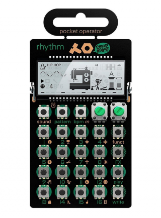 Teenage Engineering PO-12 drum machine and sequencer