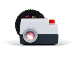 Projecteo mini slideshow projector
