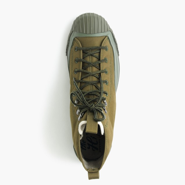 J. Crew The Hill Side all-weather high top in boreal forest