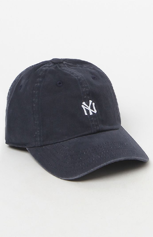 Mini logo Yankees baseball cap