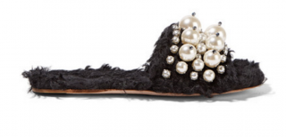 Embellished Slides by Miu Miu