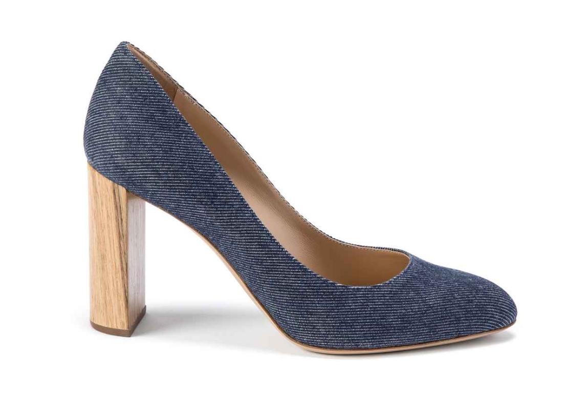 M. Gemi Denim Pumps