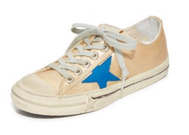 Metallic Sneakers By Golden Goose