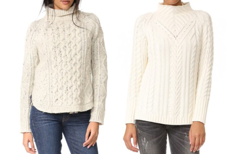 Hygge: Cable Knit Sweaters