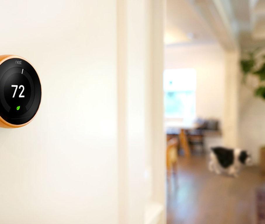 Best Summer Tech: Jenny Copper Nest Thermostat