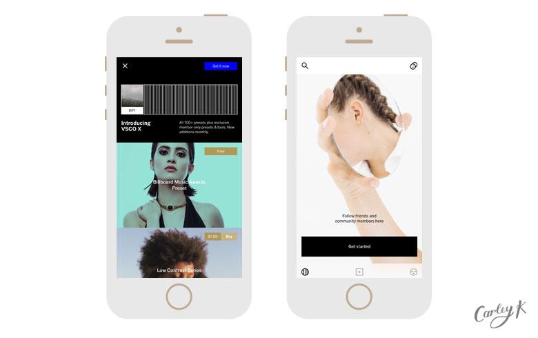 Photo Editing Apps: VSCO