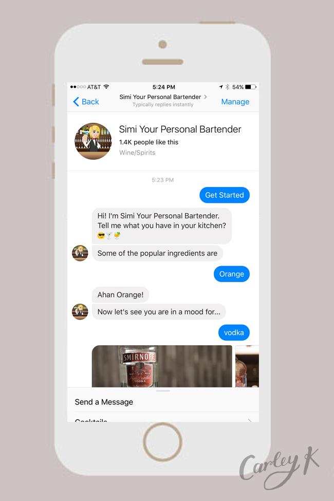 Facebook Messenger Bots: Simi