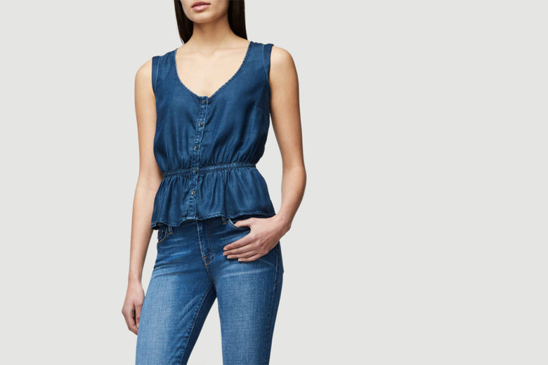 Frame Denim Peplum Top: Packing for Hawaii