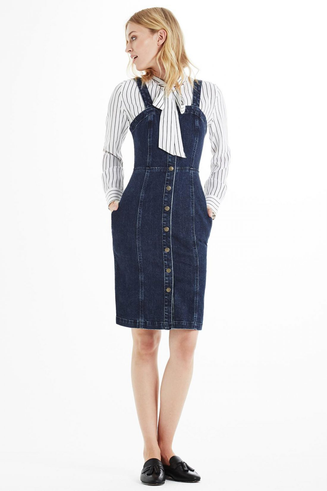 Back to school fashion: Denim Dress