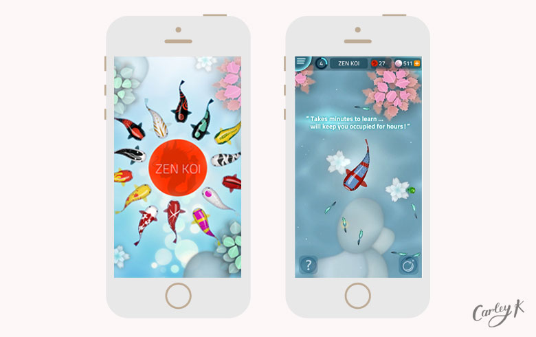 Zen Koi: Relaxing iPhone games