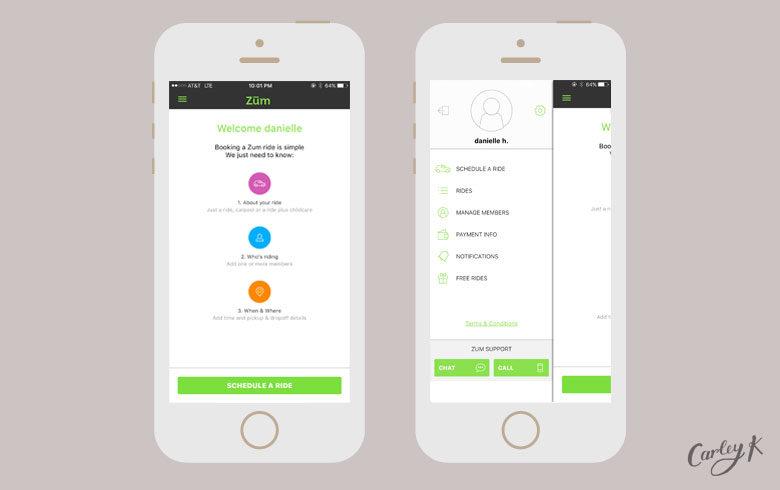 Zum: Uber for Kids