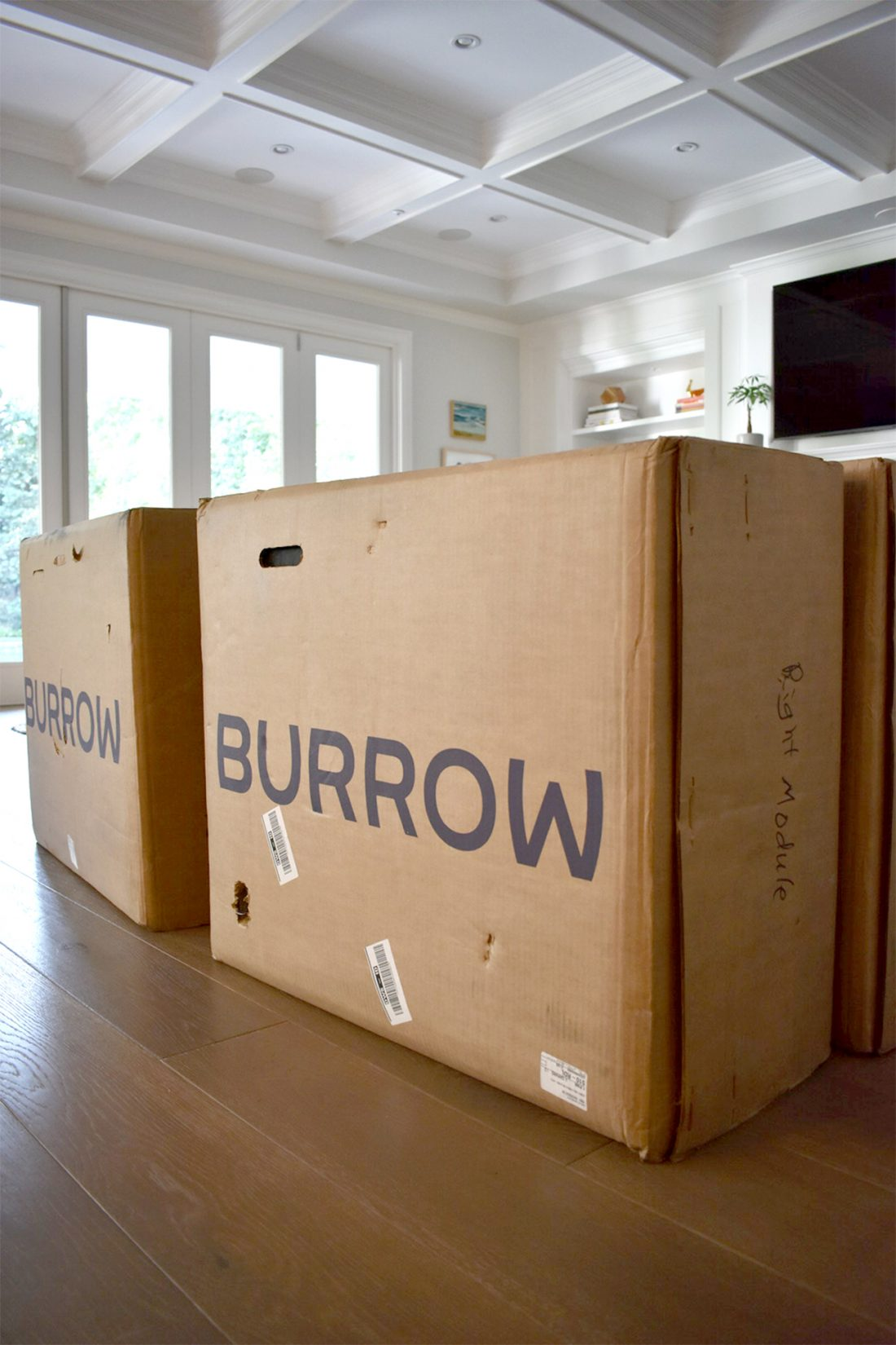 Burrow Sofa: Putting it together